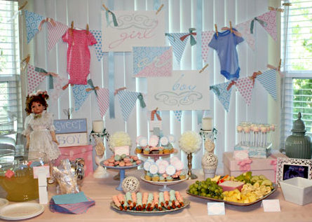 baby shower food ideas baby shower ideas not knowing gender