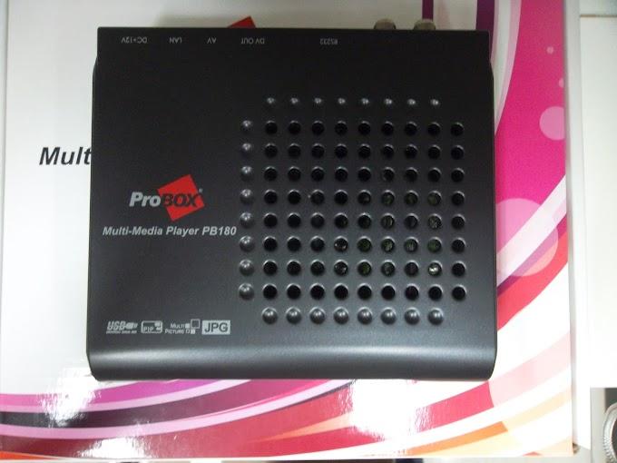 Atualizaçao Probox Pb 180 HD 22/11/2012
