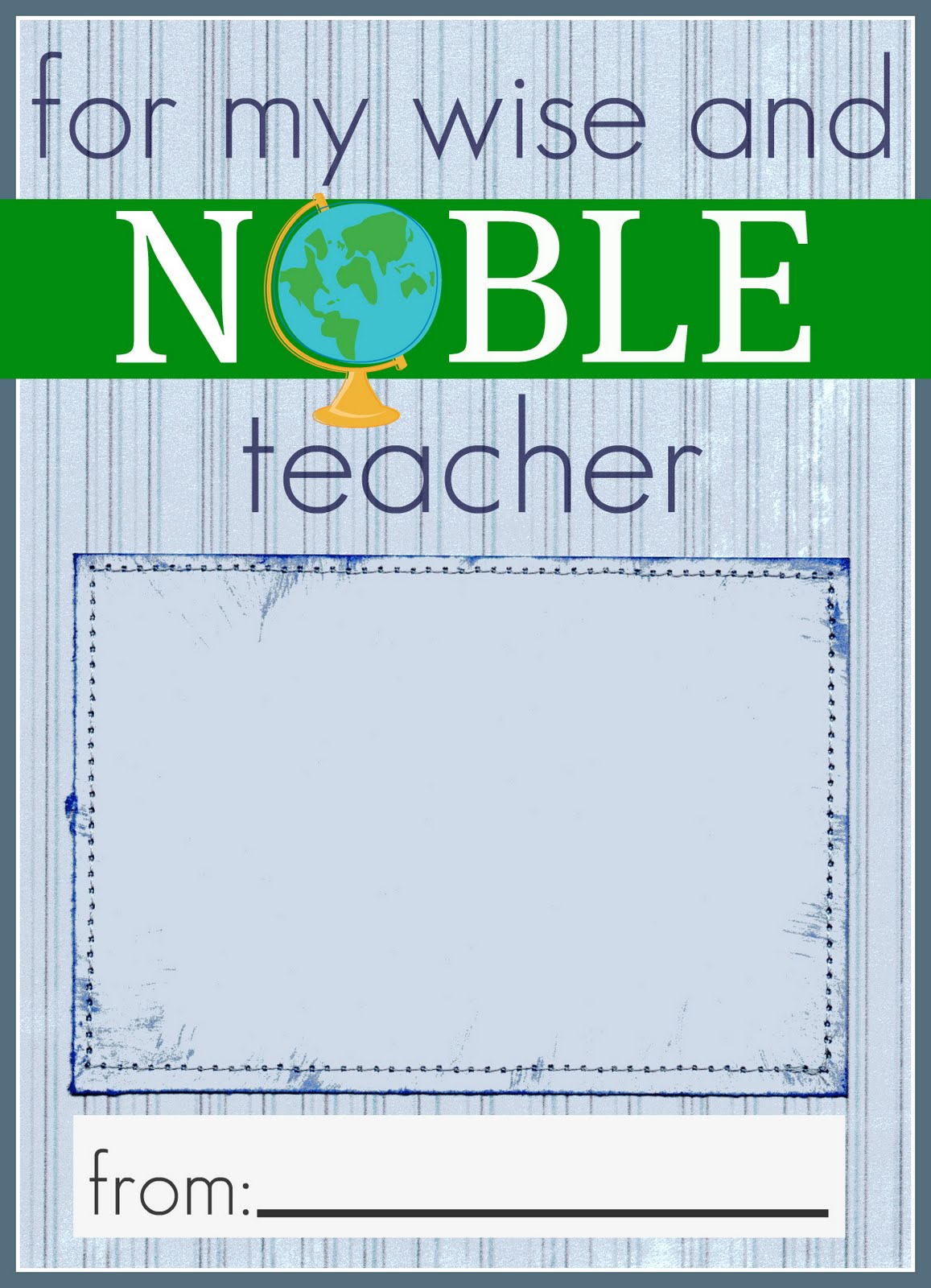 It is a picture of Resource Teacher Appreciation Printable Card