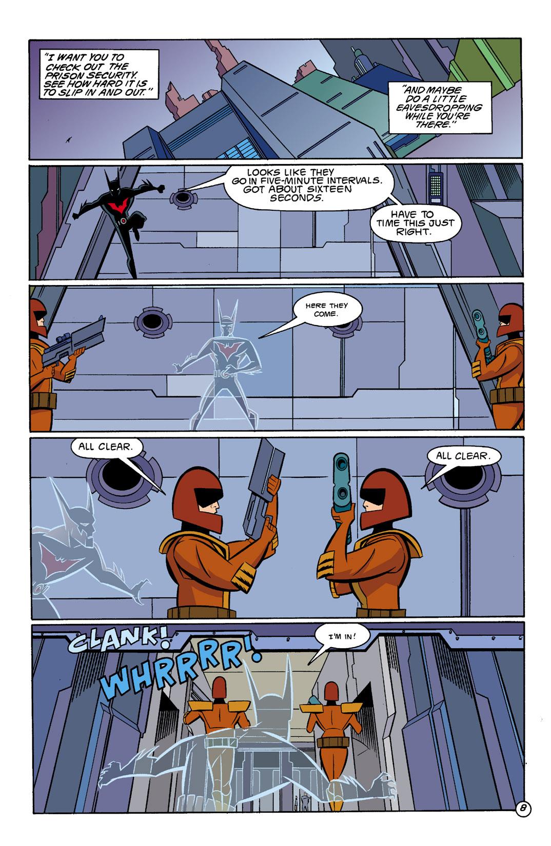 Batman Beyond [II] Issue #4 #4 - English 9
