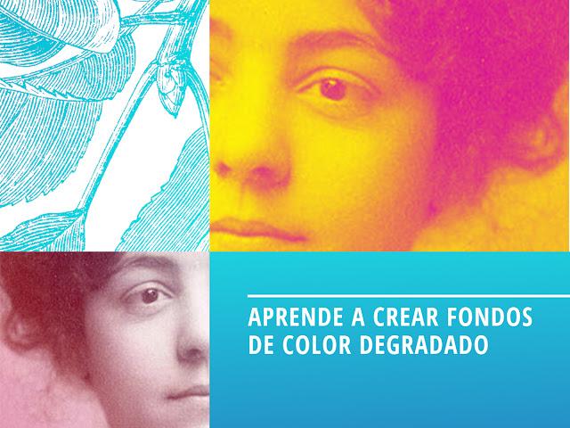 fondos y efectos colores degradados