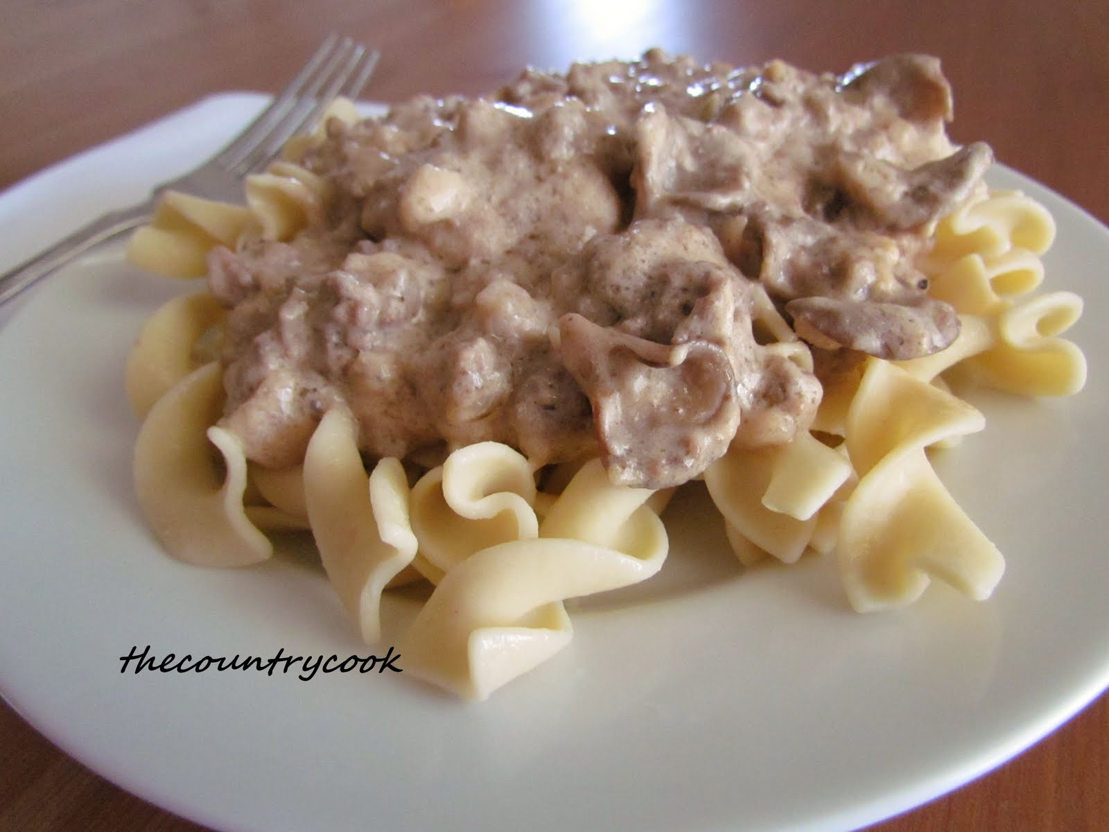 Ground Beef Stroganoff - Where does your food come from?