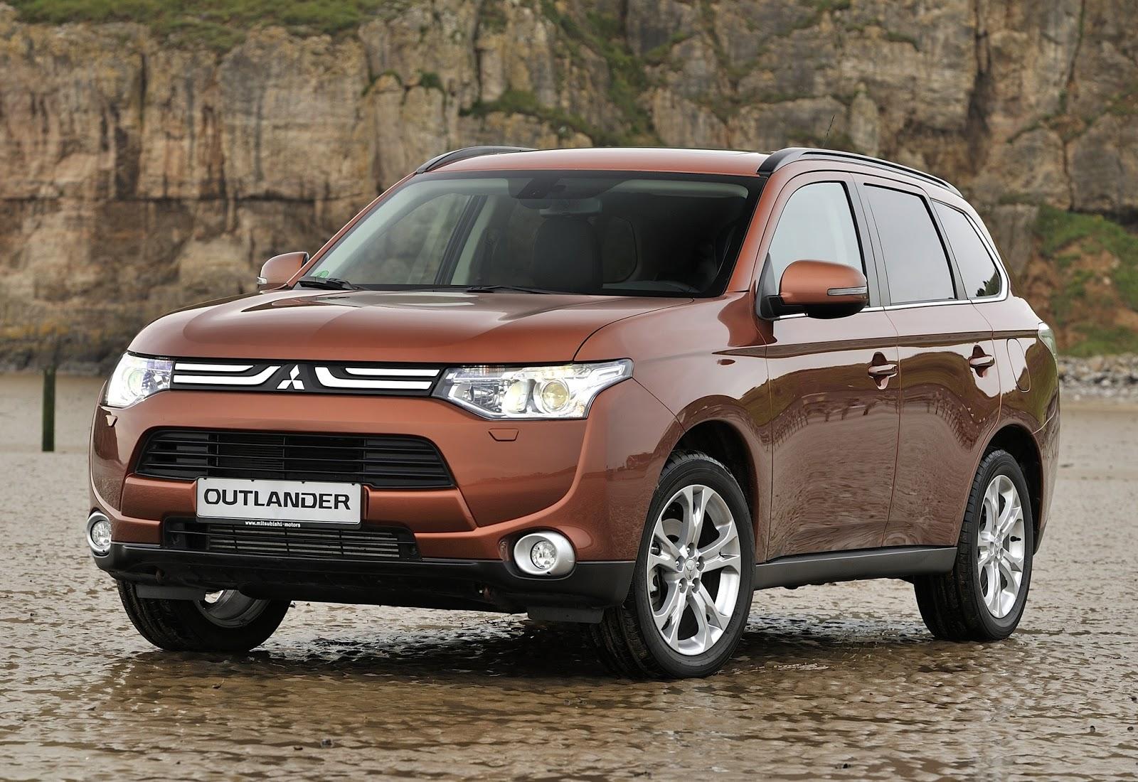 novo Mitsubishi Outlander 2014 dianteira