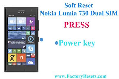 Soft Reset Nokia Lumia 730 Dual SIM