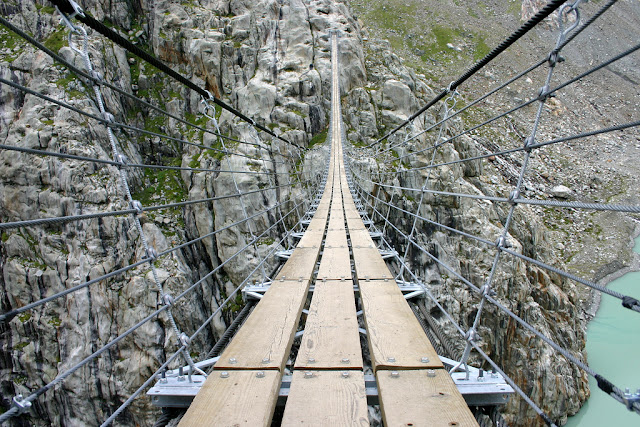 Terrifying Trift: Trift Bridge, Gadmen, Switzerland