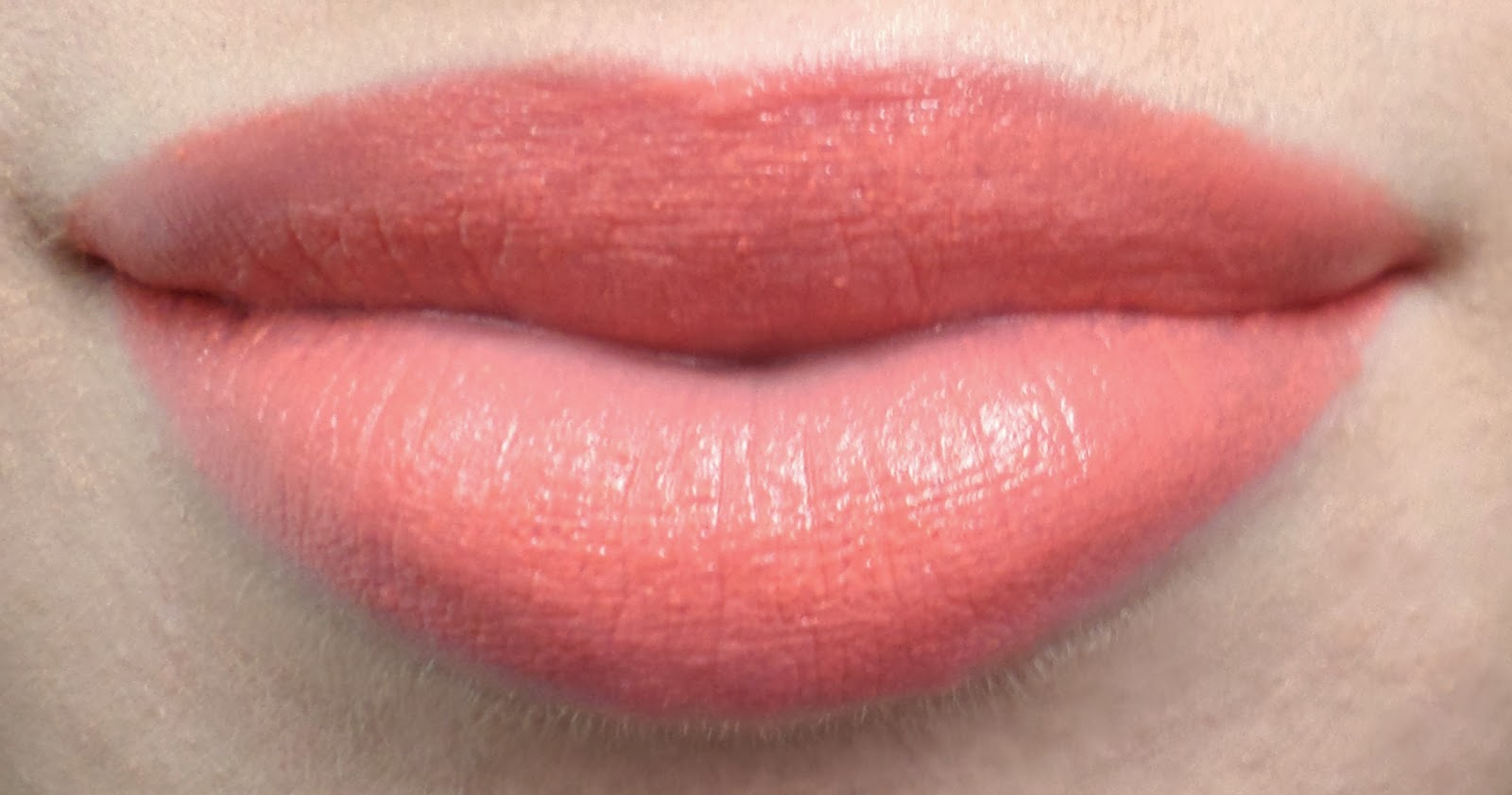 Born Pretty Velvet Finish Moisturising Lipstick in the Shade 01 On Lips