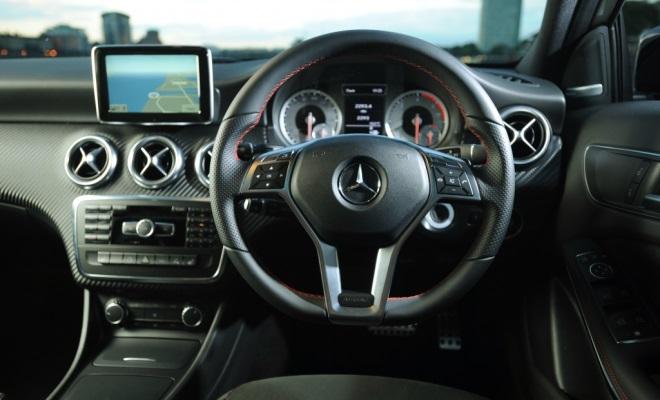 Mercedes A-Class AMG Sport cockpit