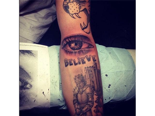 When are enough tattoos enough mark pilgrim 2013 for Justin bieber eye tattoo