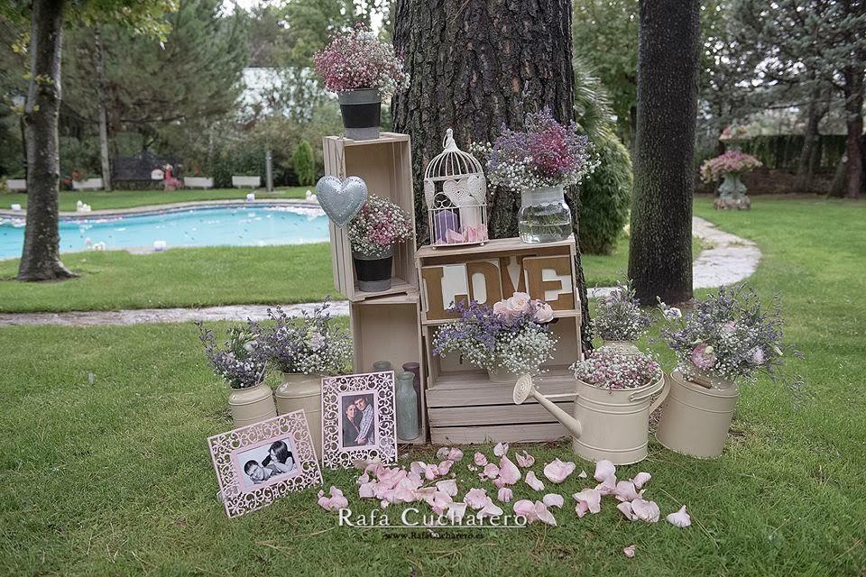 Un d a para julieta los wedding planners de tu boda - Decorar el jardin ...