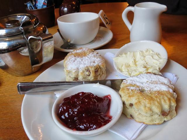 quod brasserie scones tea