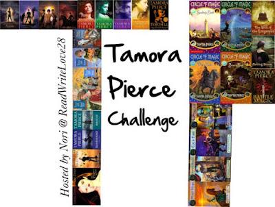 http://readwritelove28.com/2015/12/07/2016-challenge-read-tamora-pierce/