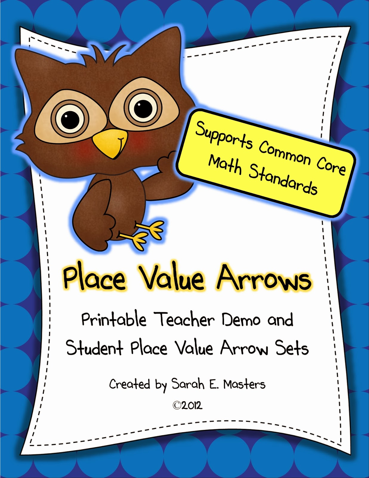 http://www.teacherspayteachers.com/Product/Place-Value-Arrows-to-Help-Support-the-Common-Core-FREE-293633
