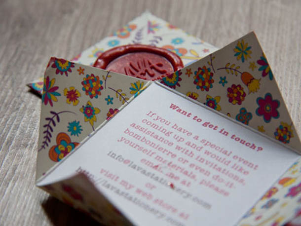 cartões de visita criativos - Lava Stationarey