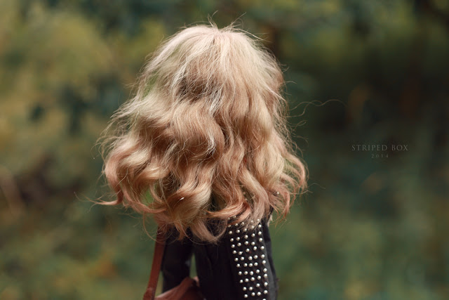 волосы куклы мохер козий мех