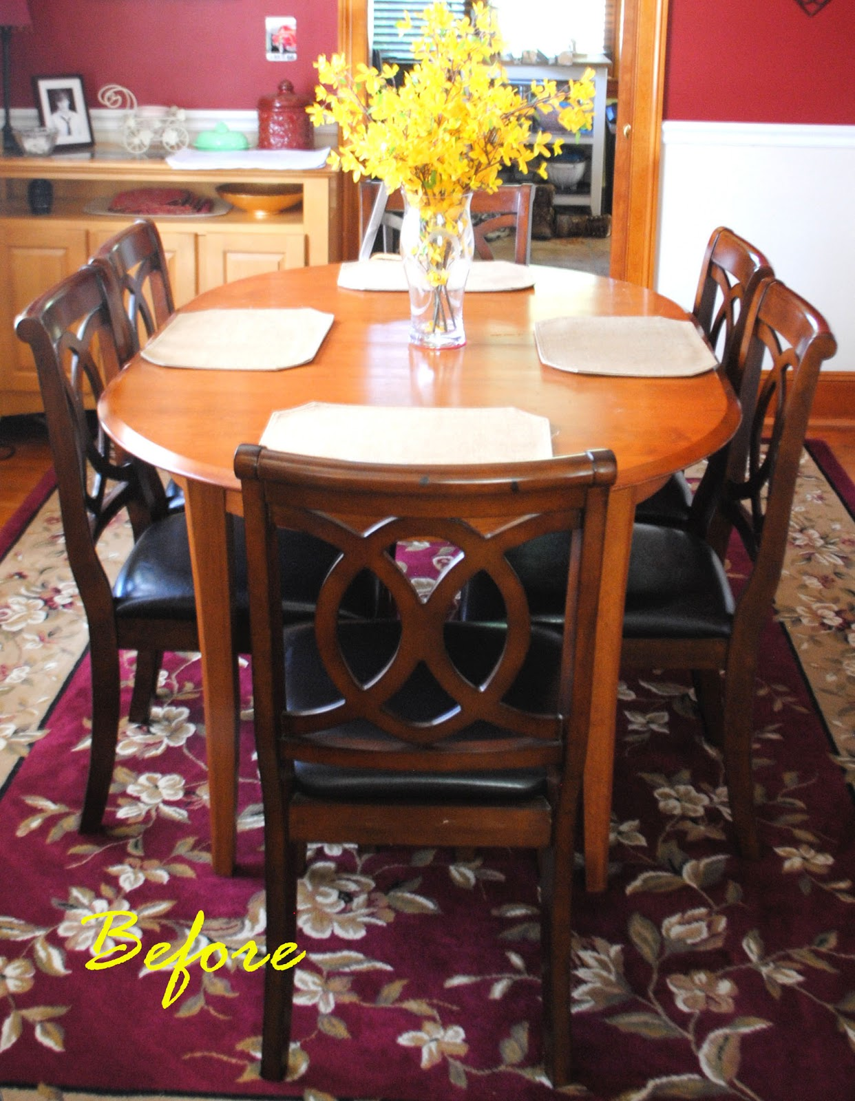 One day at a time 25 dining room table seats six for 6 seater dining room table