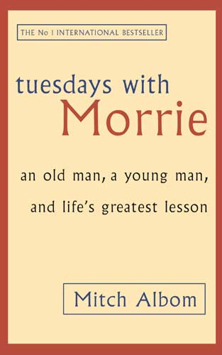 tuesday with morrie lessons Essays related to lessons on tuesdays with morrie 1  morrie's lessons were  is a sentimental story full of life lessons  on the sixth tuesday morrie and.