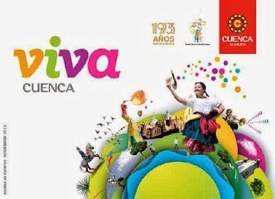 Programa cronograma de las fiestas de Cuenca 2013
