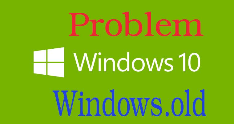 طريقة حذف مجلد Windows old و الملفات الزائدة في ويندوز Windows 10