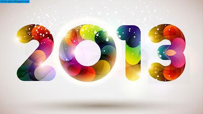سنة سعيدة 2013 - New year 2013