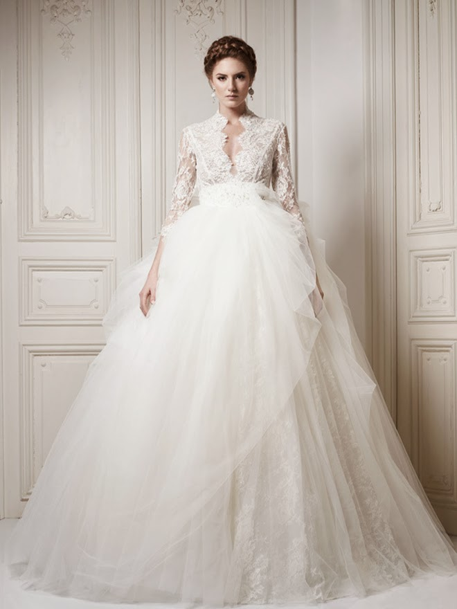 Winter Wedding Dresses Belle The Magazine