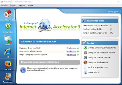 ASHAMPOO INTERNET ACCELERATOR 3.30 + CRACK