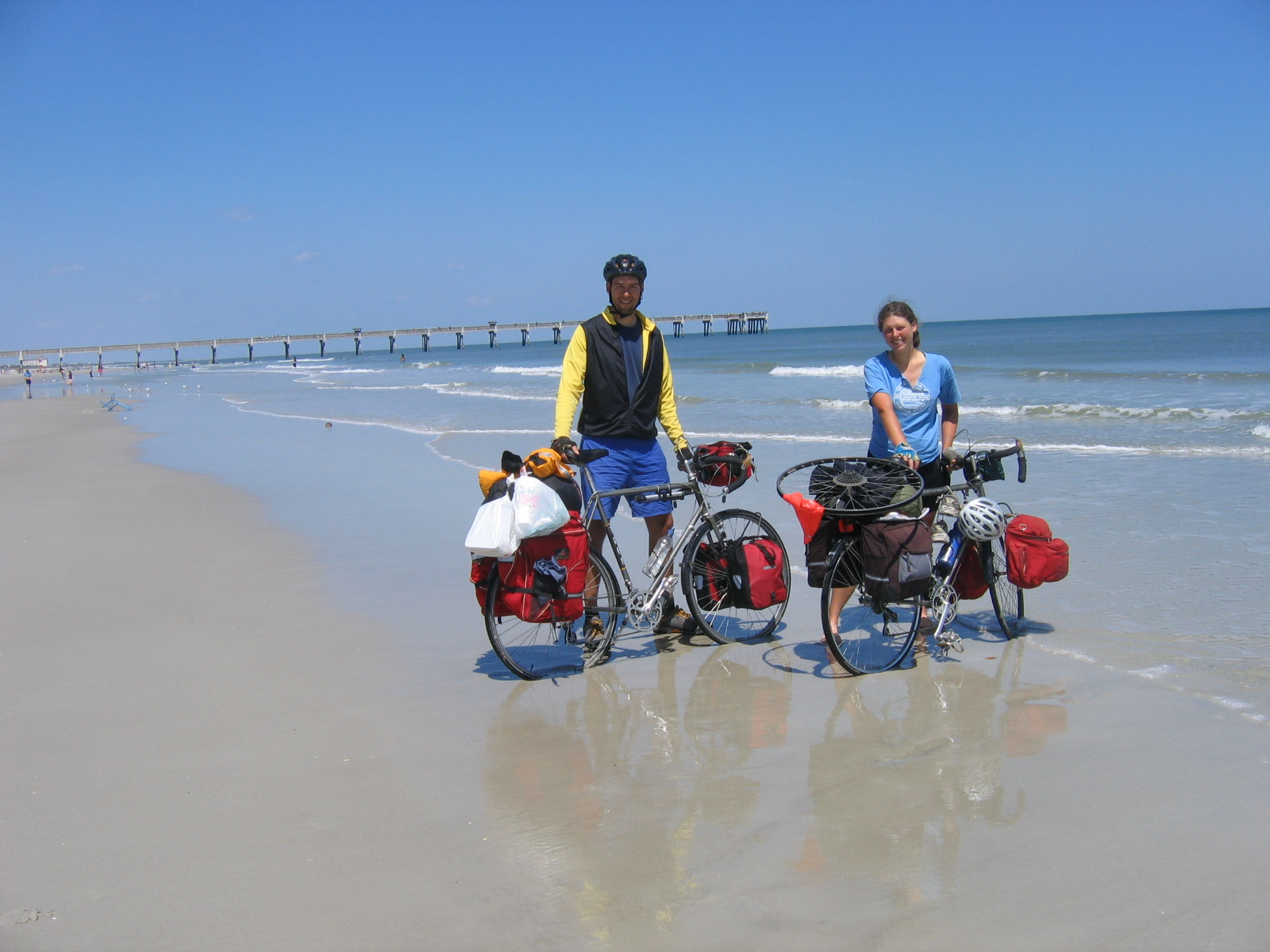 my wheel troubles and the persistently stormy florida weather caused us to re think our round about initial route to the atlantic ocean by way of