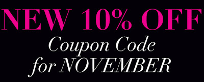 Sigma Coupon Codes November 2012