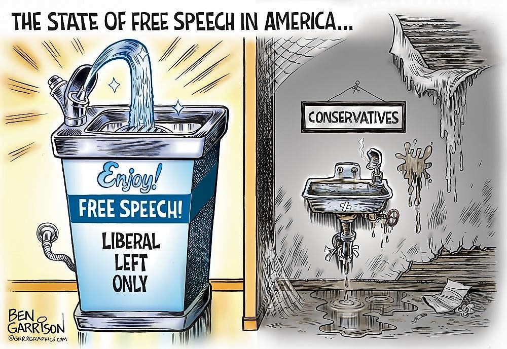 The Fountains of Free Speech