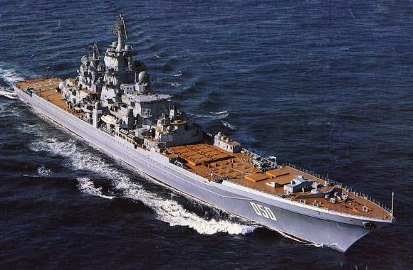 KELAS KIROV Kapal perang paling digeruni di dunia