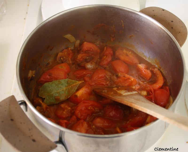 Le blog de clementine soupe de tomates - Soupe de tomate maison ...