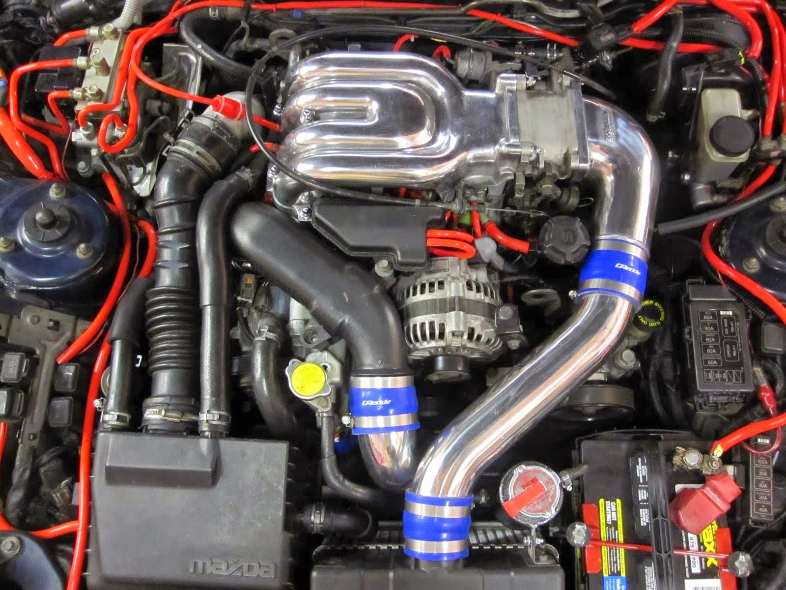2016 Mazda RX7 engine