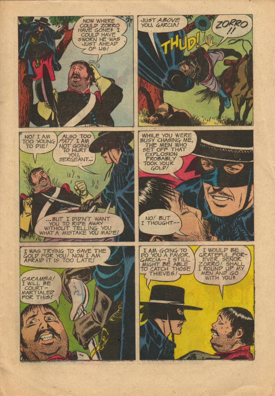 Zorro (1966) Issue #3 Page 13