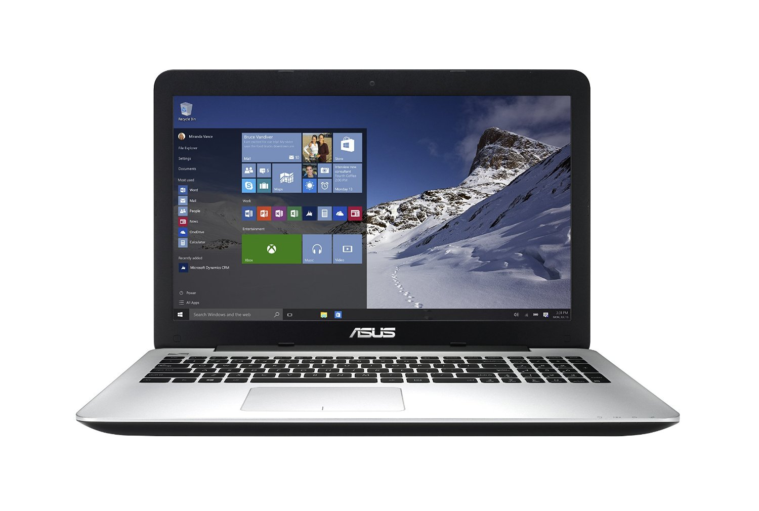 computer info asus f555la ab31 15 6 inch full hd laptop core i3 4gb ram 500gb hdd with. Black Bedroom Furniture Sets. Home Design Ideas