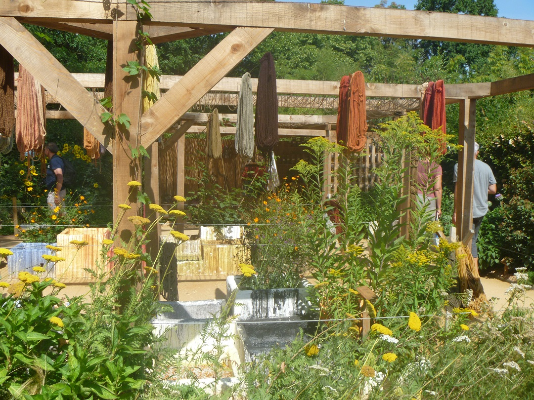 hablemos de jardines le jardin du teinturier chaumont 2015. Black Bedroom Furniture Sets. Home Design Ideas