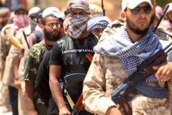 Escuadrones de la muerte de los rebeldes en Bengasi