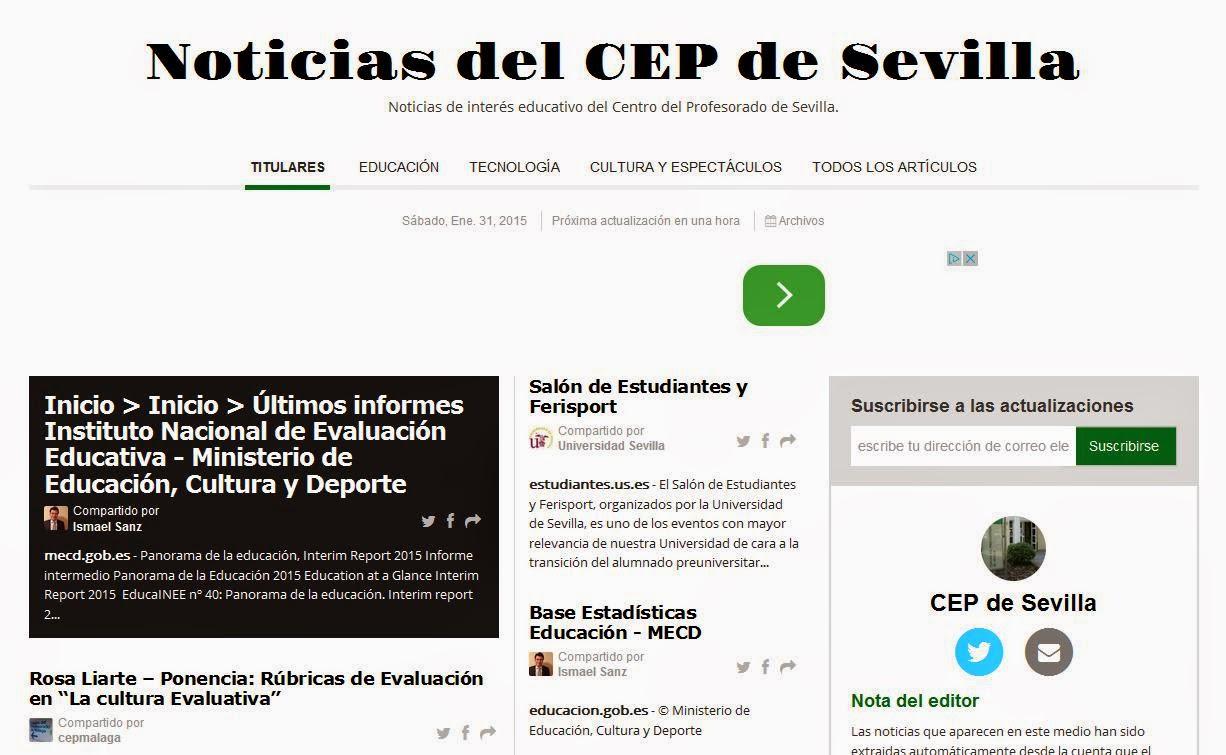 PERIÓDICO DEL CEP DE SEVILLA