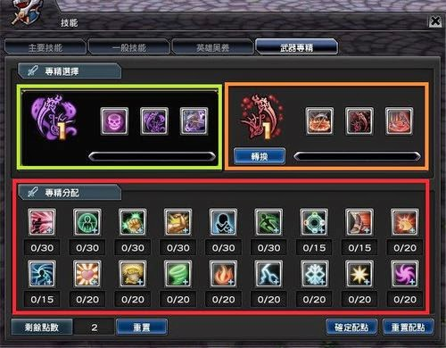 Aura Kingdom get Weapon Specialization Skills