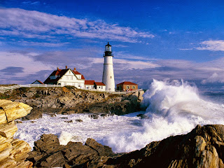 Fondo Faro Portland Head Light