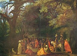 oil paining: Philemon und Baucis - by Adam Elsheimer