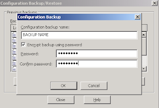 Protect IIS backup File