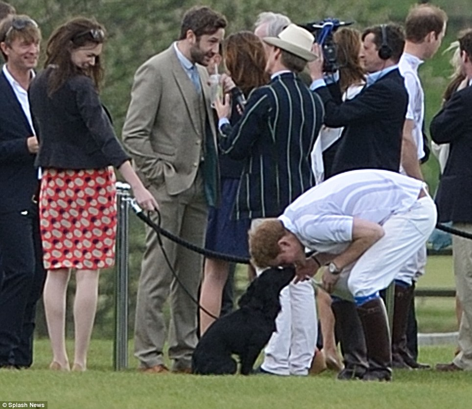 Kate Attends William's Polo Match