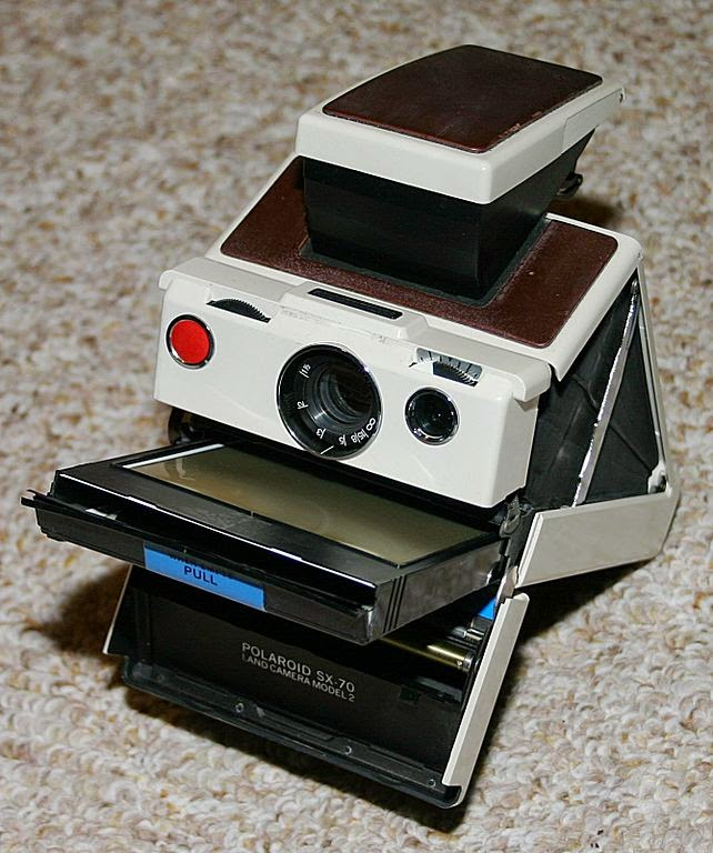 Polaroid SX-70 folding single lens reflex Land camera