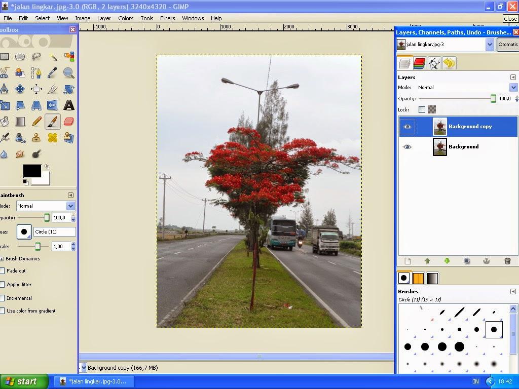 Membuat Gambar Effect Selective Color Dengan GIMP 3