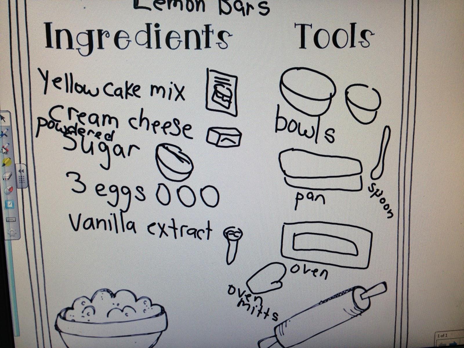 ... procedural writing unit recipes : Procedural Writing Grade 5 Examples