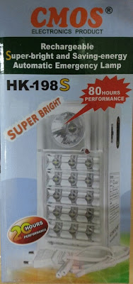 Lampu Emergency Lamp cmos HK198S Led