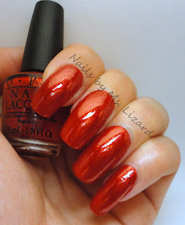 nails by ms lizard opi skyfall mini set swatches amp review