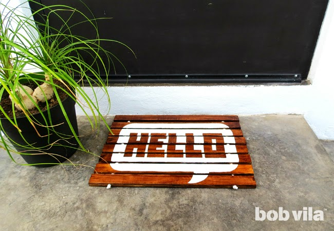 DIY: Make a Wood-Slat Doormat