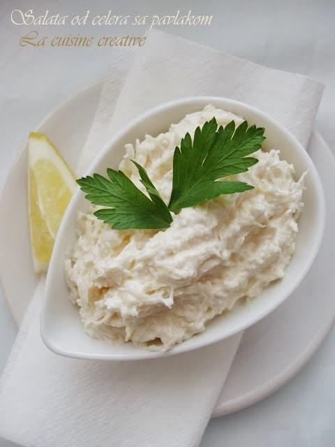 Salata od celera sa pavlakom
