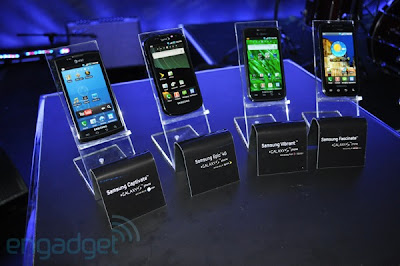 Samsung Galaxy Series Juni 2012