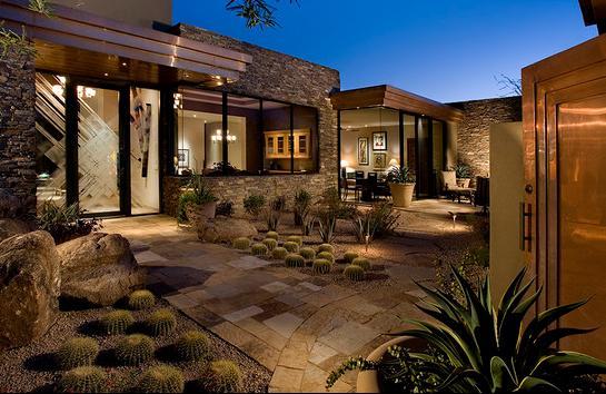 Fotos de jardin iluminacion de jardines de casas - Casas de iluminacion ...